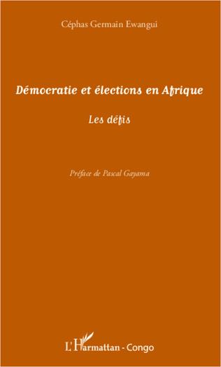 Couverture Démocratie et élections en Afrique
