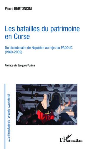 Couverture Les batailles du patrimoine en Corse