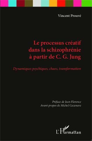 Couverture Le processus créatif dans la schizophrénie à partir de C.G Jung