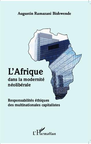 Couverture L'Afrique dans la modernité néolibérale
