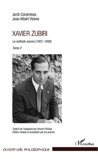 Couverture Xavier Zubiri (Tome 2)