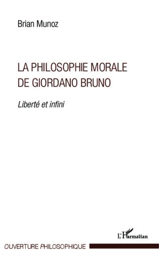 Couverture La philosophie morale de Giordano Bruno