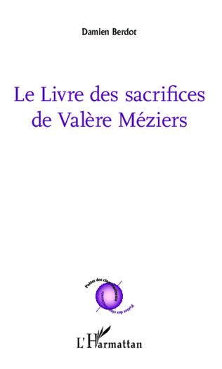 Couverture Le livre des sacrifices de Valère Méziers