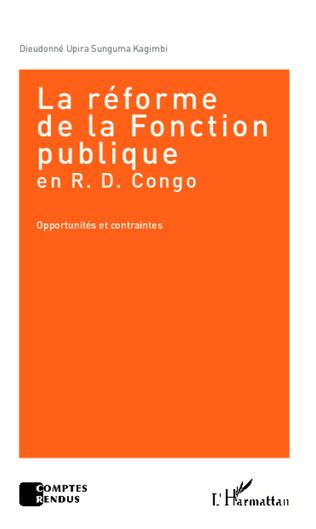 Couverture La réforme de la Fonction publique en R.D. Congo