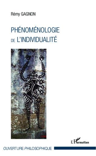 Couverture Phénoménologie de l'individualité