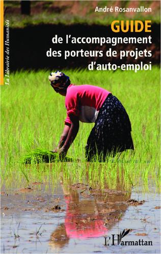 Couverture Guide de l'accompagnement des porteurs de projets d'auto-emploi