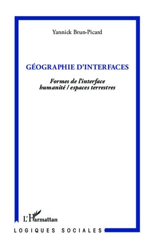 Couverture Géographie d'interfaces