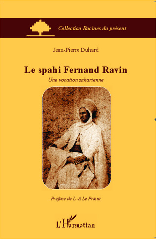 Couverture Le spahi Fernand Ravin