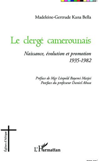 Couverture Le clergé camerounais