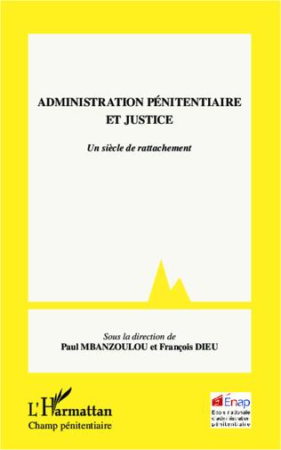Couverture Administration pénitentiaire et justice