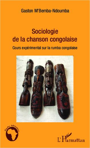 Couverture Sociologie de la chanson congolaise