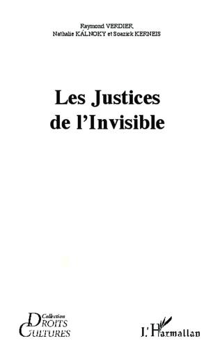 Couverture Les Justices de l'Invisible