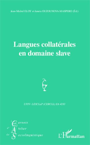 Couverture Langues collatérales en domaine slave