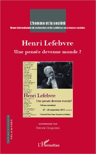 Couverture Henri Lefebvre
