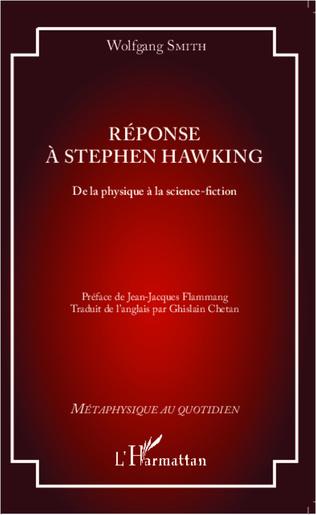 Couverture Réponse à Stephen Hawking