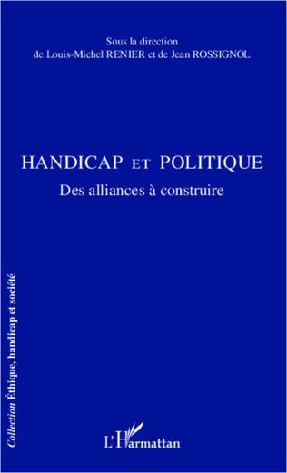 Couverture Handicap et politique