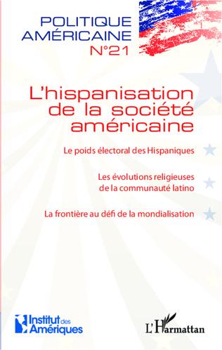 Couverture L'hispanisation de la société américaine