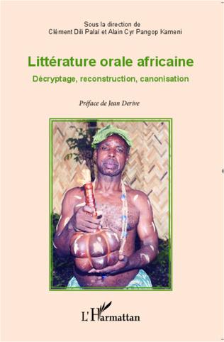 Couverture Littérature orale africaine