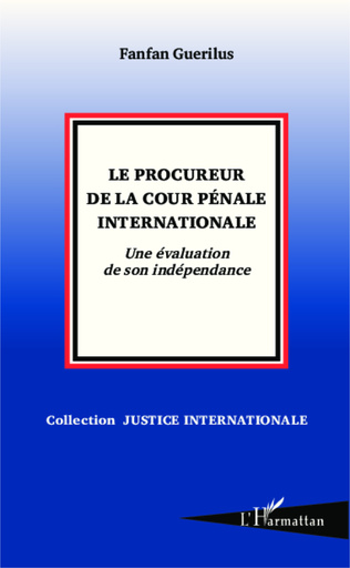 Couverture Le procureur de la Cour pénale internationale