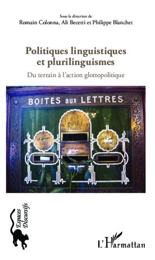 Couverture Politiques linguistiques et plurilinguistiques