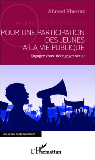 Couverture Pour une participation des jeunes à la vie publique