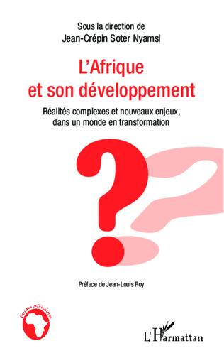 Couverture L'Afrique et son développement