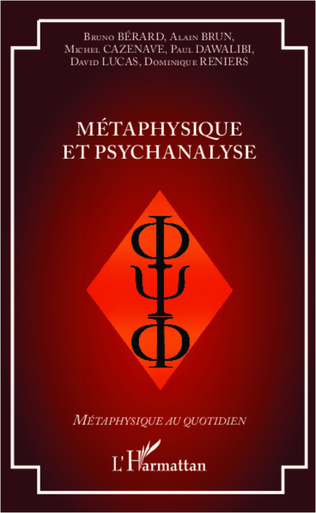 Couverture Métaphysique et psychanalyse