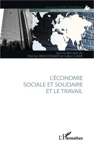 Couverture L'économie sociale et solidaire et le travail