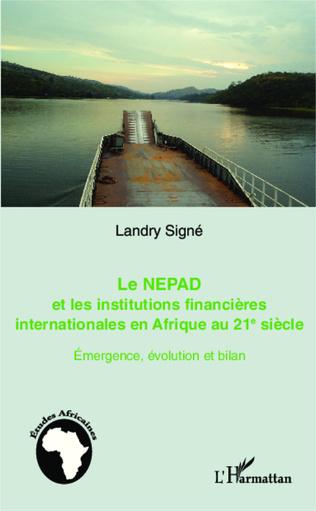 Couverture Le NEPAD et les institutions financières en Afrique au 21e siècle