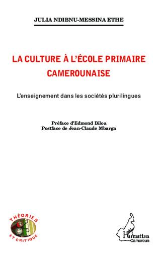 Couverture La culture à l'école primaire Camerounaise