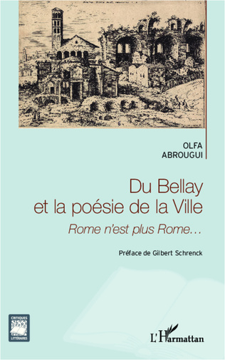 Couverture Du Bellay et la poésie de la ville