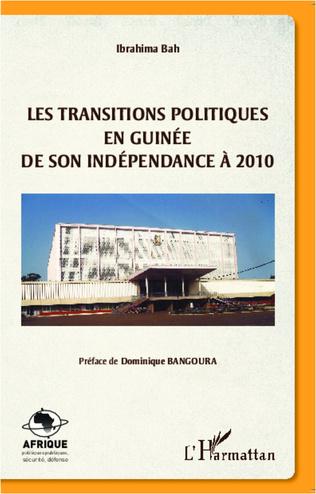 Couverture Les transitions politiques en Guinée