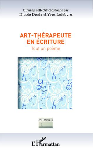 Couverture Art-thérapeute en écriture