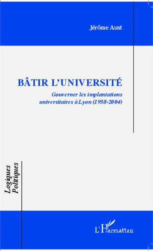 Couverture Bâtir l'université