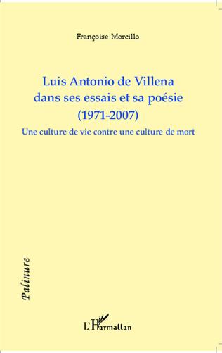 Couverture Luis Antonio de Villena dans ses essais et sa poésie (1971-2007)