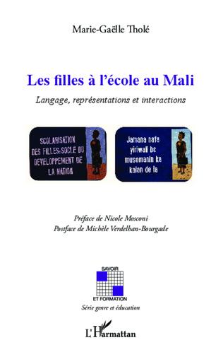 Couverture Les filles à l'école au Mali