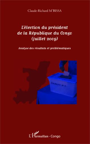 Couverture L'élection du président de la République du Congo (juillet 2009)