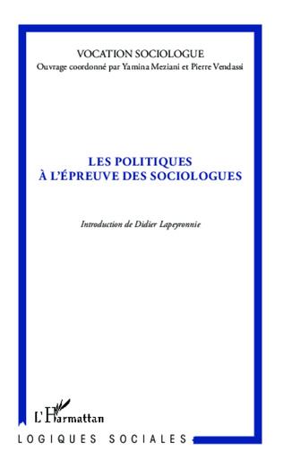 Couverture Les politiques à l'épreuve des sociologues