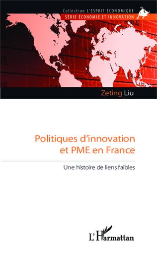 Couverture Politiques d'innovation et PME en France