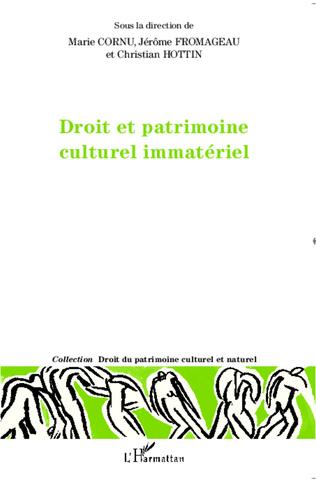 Couverture Droit et patrimoine culturel immatériel