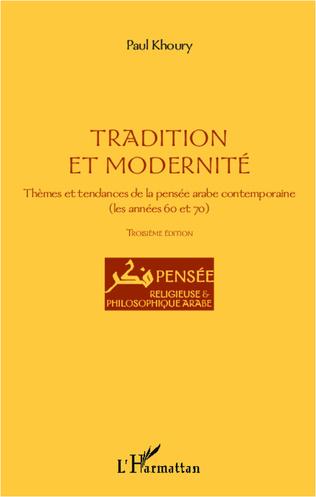 Couverture Tradition et modernité