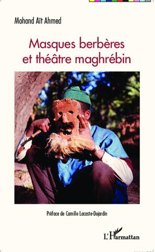 Couverture Masques Berbères et théâtre maghrébin