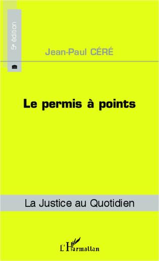 Couverture Le permis à points (5e édition)