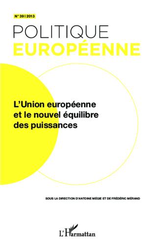 Couverture L'Union européenne et le nouvel équilibre des puissances