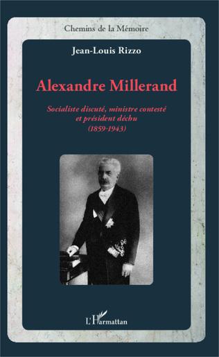 Couverture Alexandre Millerand