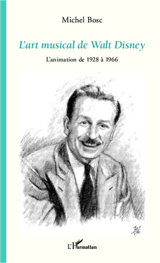 Couverture L'art musical de Walt Disney