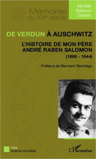 Couverture De Verdun à Auschwitz