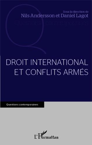 Couverture Droit international et conflits armés