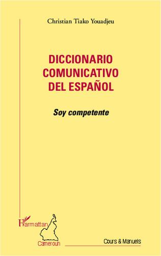 Couverture Diccionario comunicativo del español