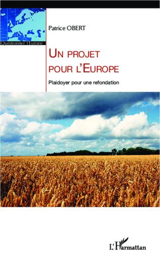 Couverture Un projet pour l'Europe